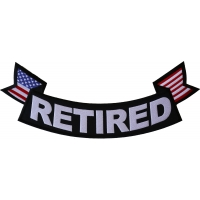 Retired Extra Large Rocker Patch