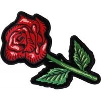 Single Rose Large Back Patch