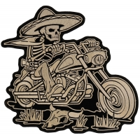 Mexican Biker Patch | Embroidered Biker Patches