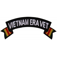 Vietnam Era Vet Large Rocker Patch | US Military Vietnam Veteran Patches