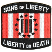 Sons Of Liberty Three Percent Patch | Embroidered Patches