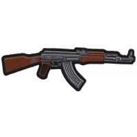 AK 47 Patch Right Assault Rifle Gun | Embroidered Patches