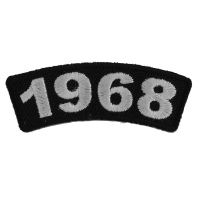 1968 Year Patch