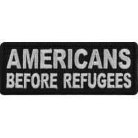 Americans Before Refugees Patch