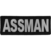 Assman Funny Patch | Embroidered Patches