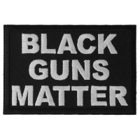 Black Guns Matter Patch