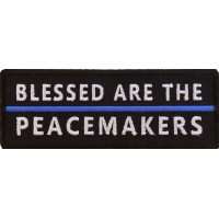 Blessed Are The Peacemakers Patch