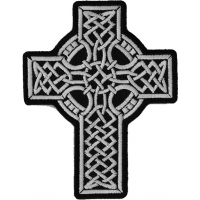 Celtic Design Cross Patch