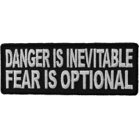 Danger Is Inevitable Fear Is Optional Patch