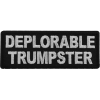 Deplorable Trumpster Patch