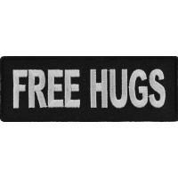 Free Hugs Patch | Embroidered Patches