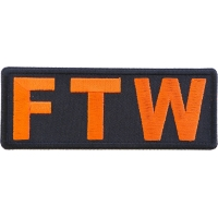FTW Orange Patch