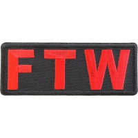 FTW Red Patch