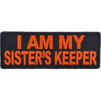 I am my Sister's Keeper Patch in Orange