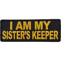 I am my Sister's Keeper Patch in Yellow