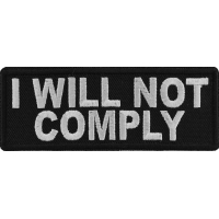 I will not comply Patch