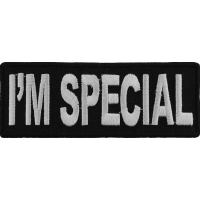 I'm Special Patch | Embroidered Patches