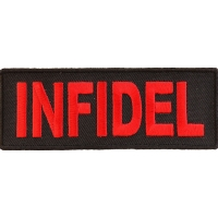 Infidel Patch | Embroidered Patches