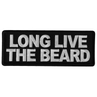 Long Live the Beard Patch