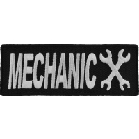 Mechanic Patch | Embroidered Patches