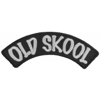 Old Skool Small Rocker Patch | Embroidered Patches
