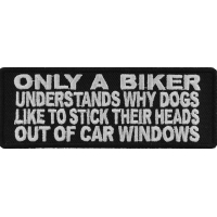 Only Bikers Understand Dogs Patch | Embroidered Patches