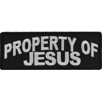 Property Of Jesus Christian Patch | Embroidered Patches