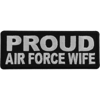 Proud Air Force Wife Patch