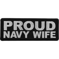 Proud Navy Wife Patch