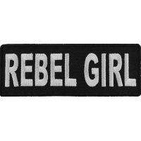 Rebel Girl Patch | Embroidered Patches