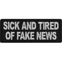 Sick And Tired Of Fake News Patch