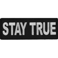 Stay True Patch