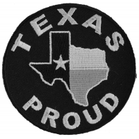 Texas Proud Patch | Embroidered Biker Patches