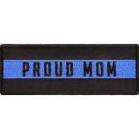 Thin Blue Line Proud Mom Patch