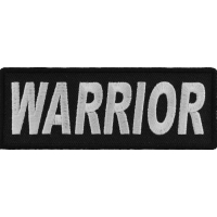 Warrior Patch | Embroidered Patches