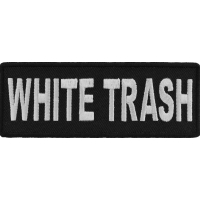White Trash Patch | Embroidered Patches
