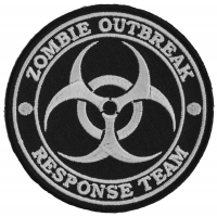 Zombie Outbreak Response Team Patch | Embroidered Patches