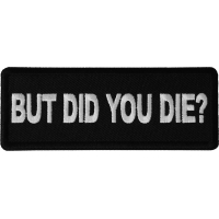If You Obey All The Rules You/'ll Miss All The Fun Iron on Patch Biker Patch