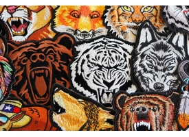 Shop Iron on Wild Animal Patches Bikers and Hunters