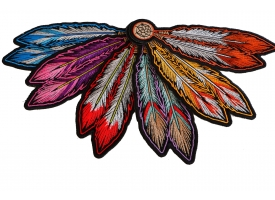 Shop Embroidered Feather Patches - Iron On or Sew On