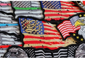 Shop Vintage American US Flag Patches