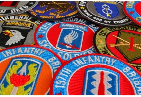 Patriotic Military Patches