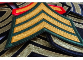Military Insignia Chevron Patches