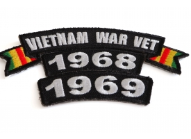 Shop Vietnam Military Veteran Service Year Patches