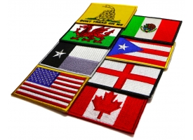 Shop US Flag Patches, Patriotic Flag, Gadsden Flag Patch
