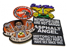 Shop Biker Patches and Motorcycle Patches
