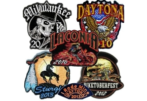 cheap bike week patches