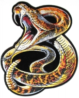 Rattle Snake Large Back Patch