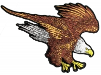 Brown American Eagle Large Patch