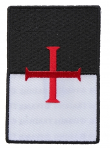 69cf4223555 Crusader Knight Patches for Christian Missionaries - TheCheapPlace